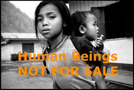 Human beings - not for sale